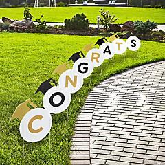 Congrats Graduation Sidewalk Signs