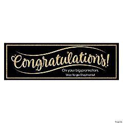 Congratulations Custom Banner - Medium
