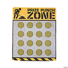 Construction 16-Hole Prize Punch Game