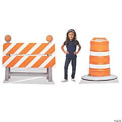 Construction Barricade Stand-Ups