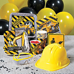 Construction Party Pack