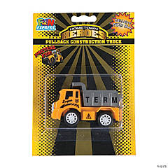 Construction Truck Pull-Back Toys