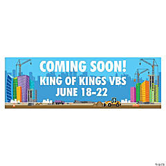 Construction VBS Custom Banner - Large