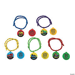 Construction VBS Daily Verse Rope Bracelets