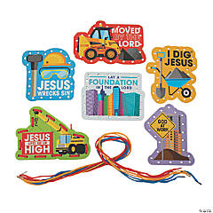 Construction VBS Lacing Cards