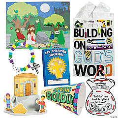 Construction VBS On-The-Go Bible Stories for 48
