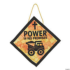 Construction VBS Power Sign Craft Kit