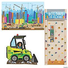 Construction VBS Small Group Scene Setter Decorating Kit