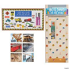 Construction VBS Small Group Wall Decorating Kit