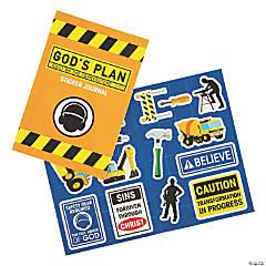 Construction VBS Sticker Books