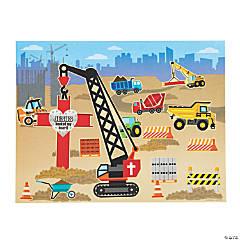 Construction VBS Sticker Scenes