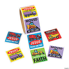 Construction VBS Stickers