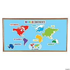 Continent Mini Bulletin Board Set