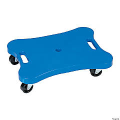 Contoured Plastic Scooter with Handles