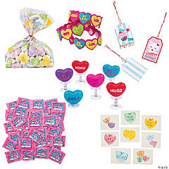 Conversation Hearts Value Kit for 24