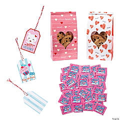 Conversation Hearts with Bag Kit for 24