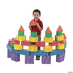 Cool Cardboard Bricks 42 pc unit