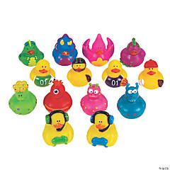 Cool Rubber Duckies Assortment