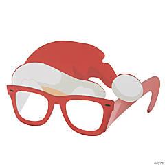 Cool Santa Paper Glasses
