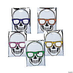 Cool Skeletons Reflective Trick-or-Treat Bags