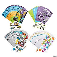 Cool Sticker Sheet Assortment