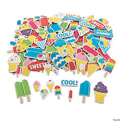 Cool Treat Self-Adhesive Shapes