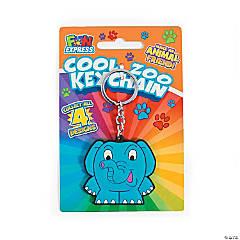 Cool Zoo Keychains