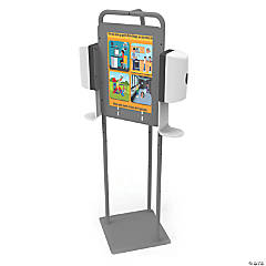 Copernicus Double Hand Sanitizer Station without Dispenser