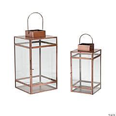 Copper Lantern Set