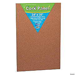 "Cork Panel, 24"" x 36"", Pack of 2"
