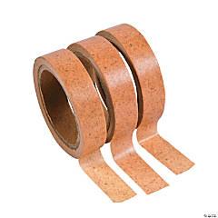 Cork Print Washi Tape