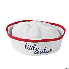 Cotton Baby Sailor Hat