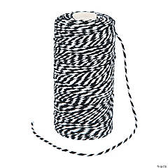 Cotton Black Baker's Twine