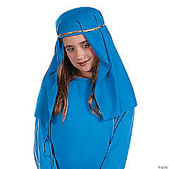 Cotton Blue Nativity Hat
