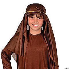 Cotton Brown Nativity Hat