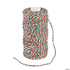 Cotton Christmas Baker's Twine