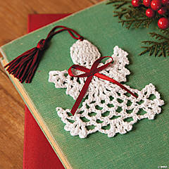 Cotton Crocheted Angel Bookmarks