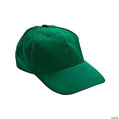 Cotton Green Baseball Caps