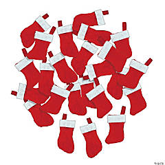 Cotton Mini Christmas Stockings