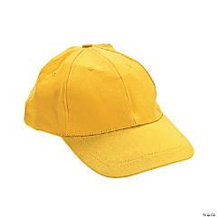 Cotton Yellow Baseball Caps