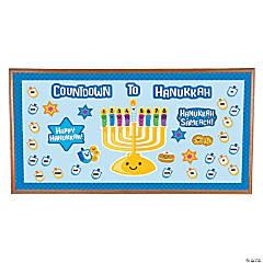 Countdown to Hanukkah Bulletin Board Set