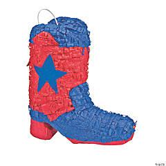 Cowboy Boot Papier-Mâché Piñata