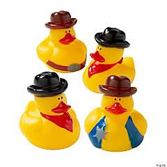 Cowboy Rubber Duckies