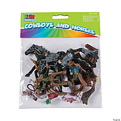 Cowboys with Horses