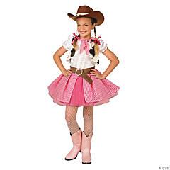 Cowgirl Cutie Girls Halloween Costume - Large