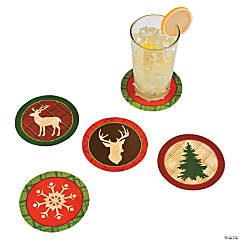 Cozy Christmas Coasters
