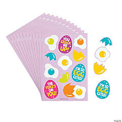 Cracked Easter Egg Sticker Sheets