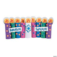 Craft Roll Hanukkah Candle Craft Kit