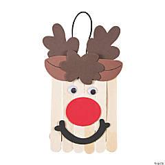 Craft Stick Reindeer Banner Craft Kit