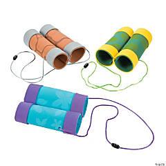 Craft Tube Binoculars Craft Kit